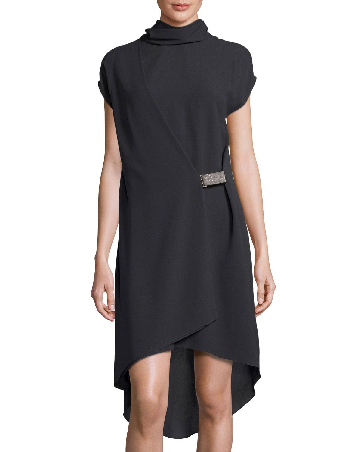 Shop from the world's largest selection and best deals for Short Sleeve Turtleneck Black Dresses for Women. Shop with confidence on eBay!