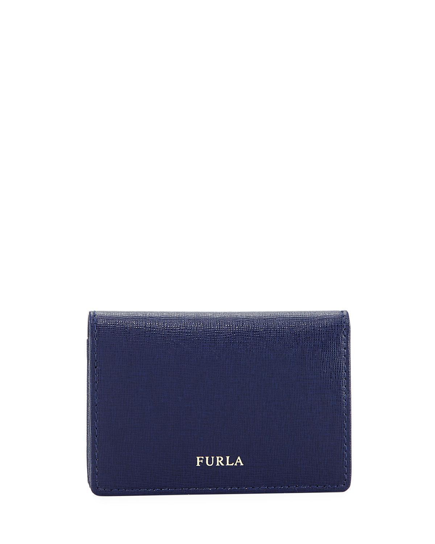 afa52c3a8837 Lyst - Furla Classic Business Card Case in Blue