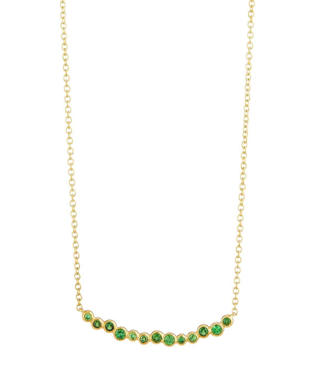 Ippolita 18k Glamazon Stardust Smile Bar Necklace with Diamonds B5Pv9vC3M