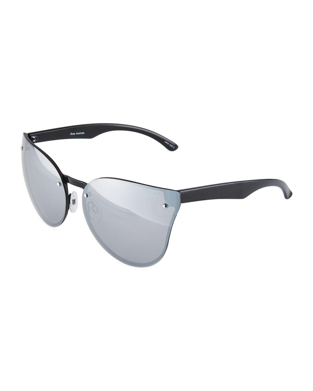 2a1b14b530f Lyst - Quay Higher Love Cat-eye Plastic And Metal Sunglasses in ...