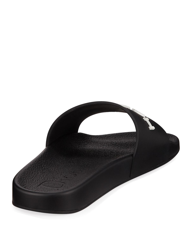 b98090bcec0ed9 Lyst - Dior Men s Har Slide Sandals in Black for Men