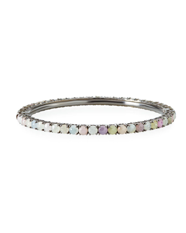 Bavna Multi-Sapphire Bangle Bracelet TLZi4uO09