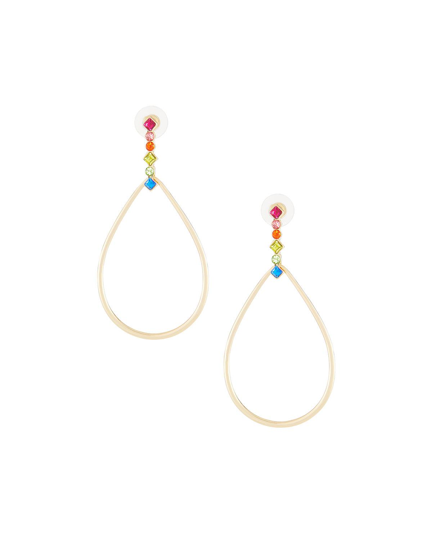 Fragments Crystal Teardrop Earrings qcjNl7