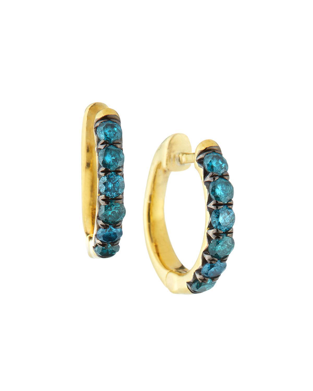 Jude Frances 18K Cleopatra Diamond Hoop Earrings l9l8atTOBp