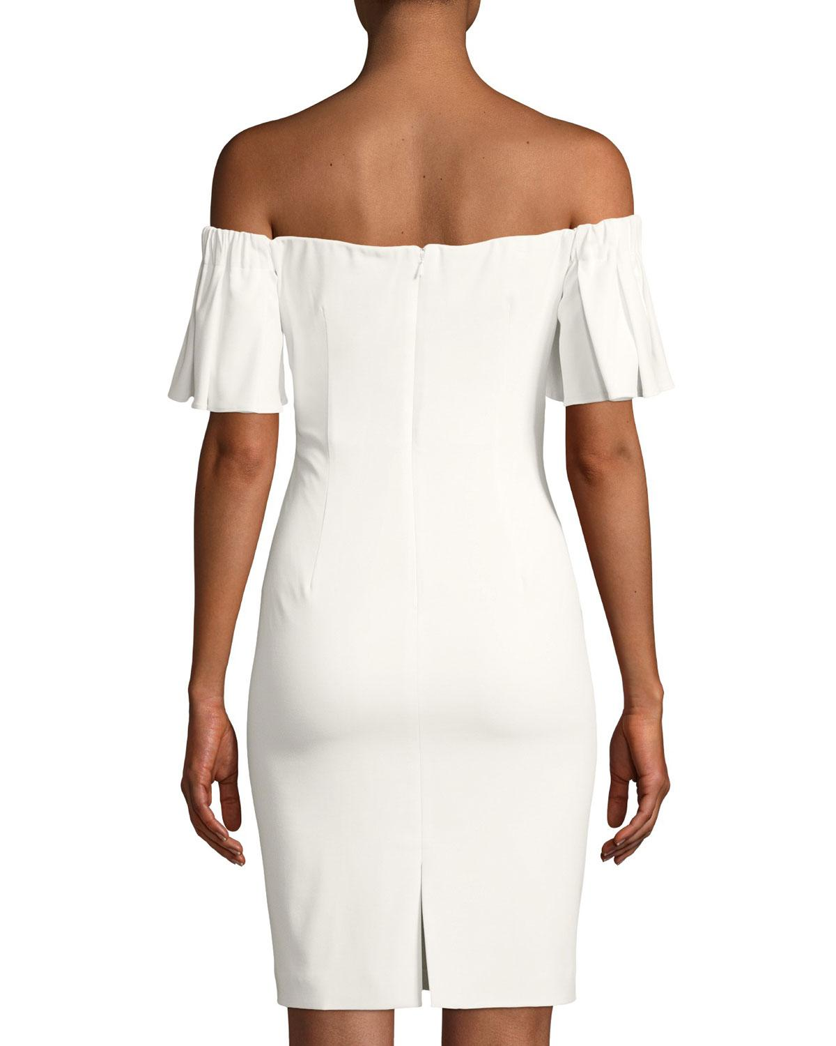 5af748ae Gallery. Previously sold at: Last Call · Women's Off The Shoulder Dresses