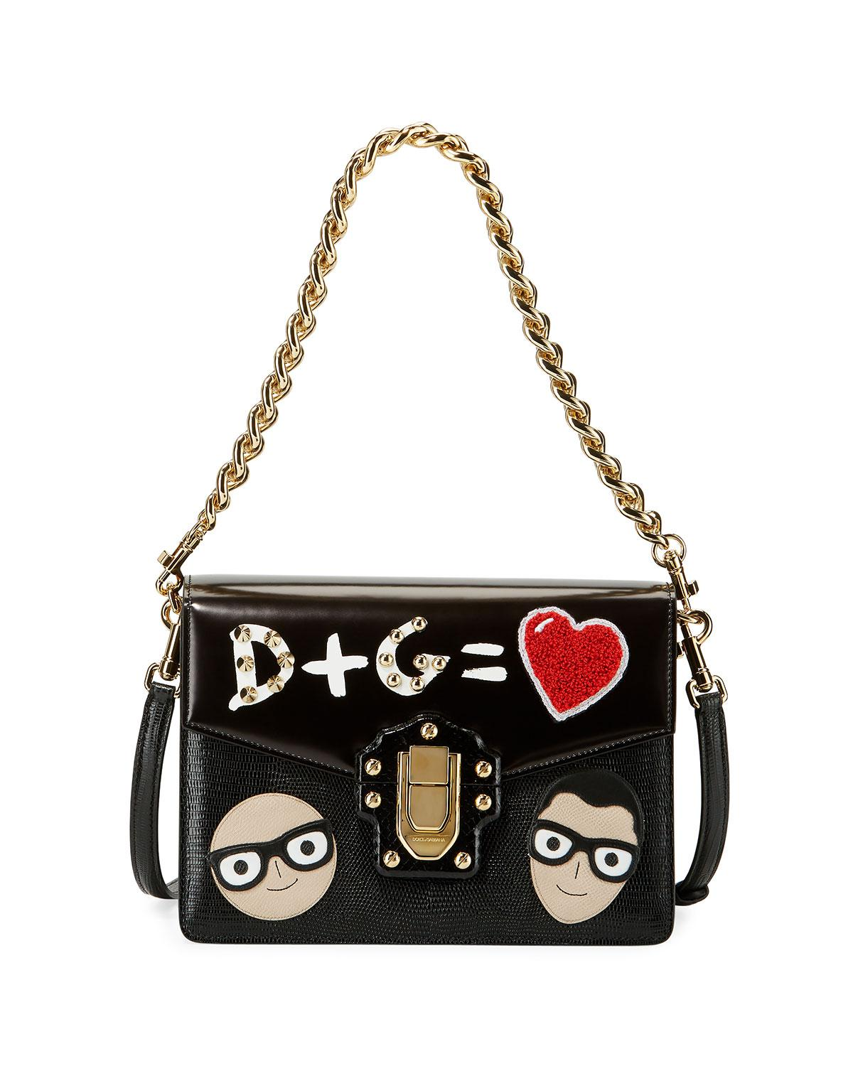 Love shoulder bag - Black Dolce & Gabbana 8l7KTXVC3Z