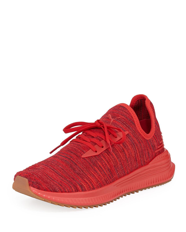 842118ba55df16 Lyst - PUMA Men s Avid Evoknit Running Sneakers in Red for Men