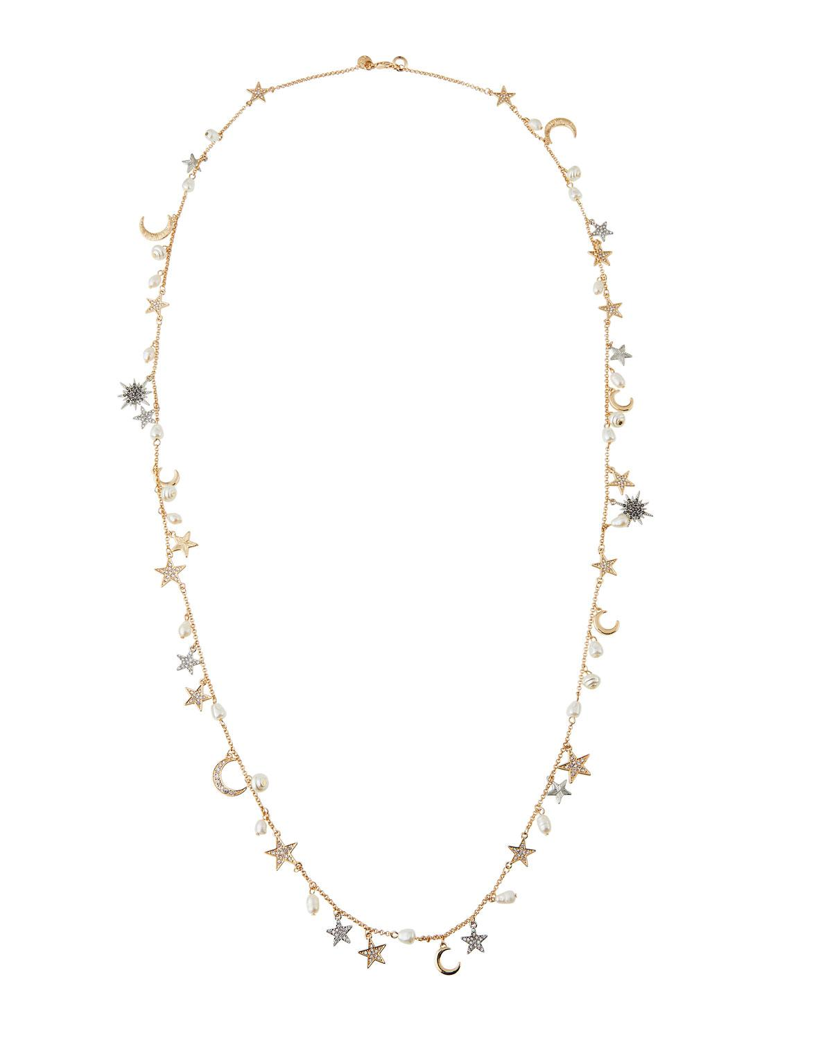 Lydell Nyc Single-Strand Cubic Zirconia Celestial Necklace RIWC8iW