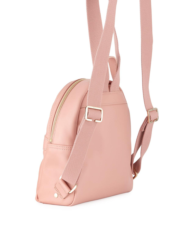 c08276ff00e7 Longchamp - Pink 2.0 Small Leather Backpack Bag - Lyst. View fullscreen