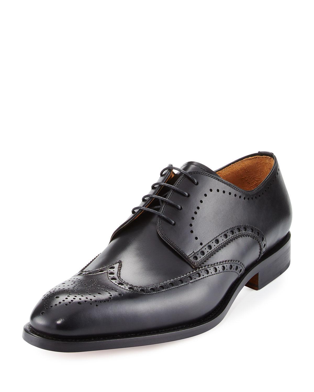 Asos Brogue Shoes In Black