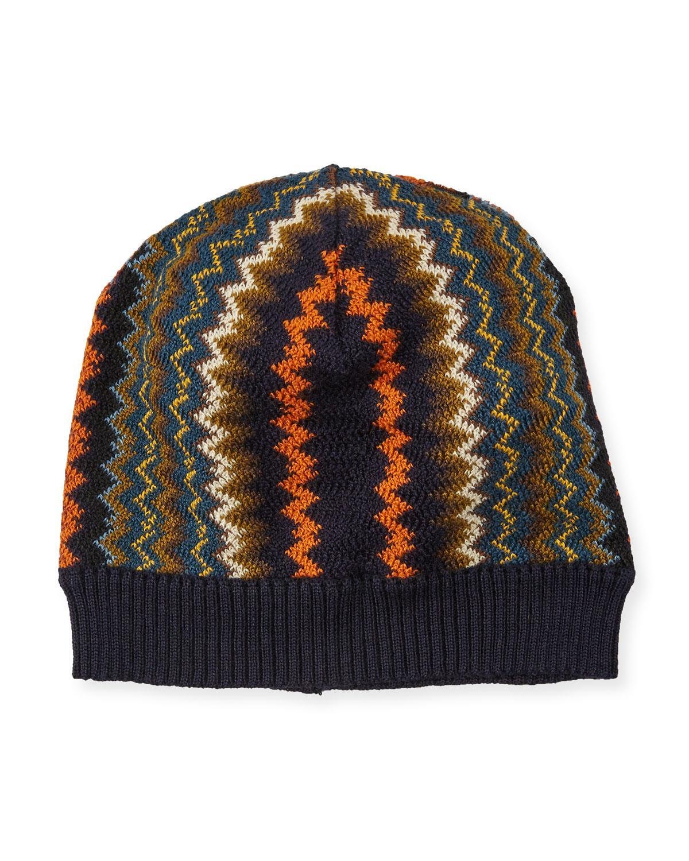282b0bb9969 Missoni. Women s Zigzag Wool-blend Beanie