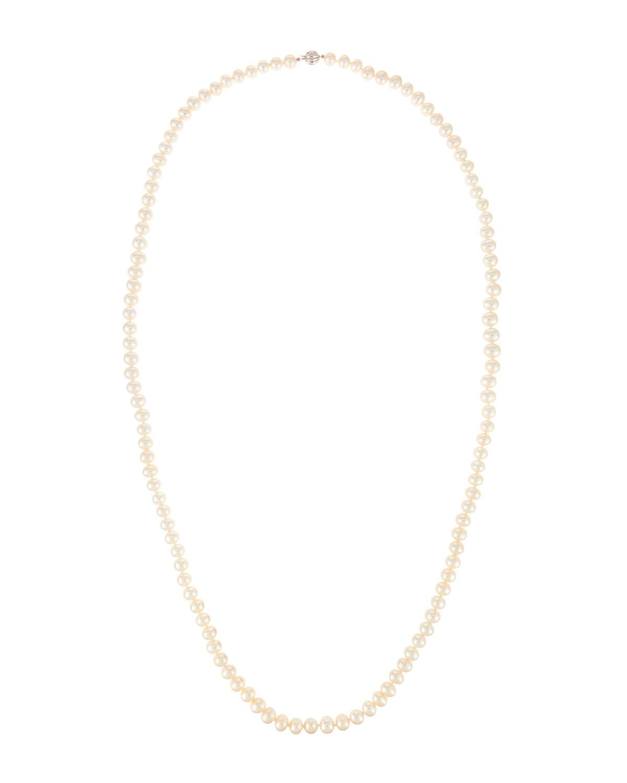 Belpearl 14k Freshwater Pearl Necklace BSiQIkmN