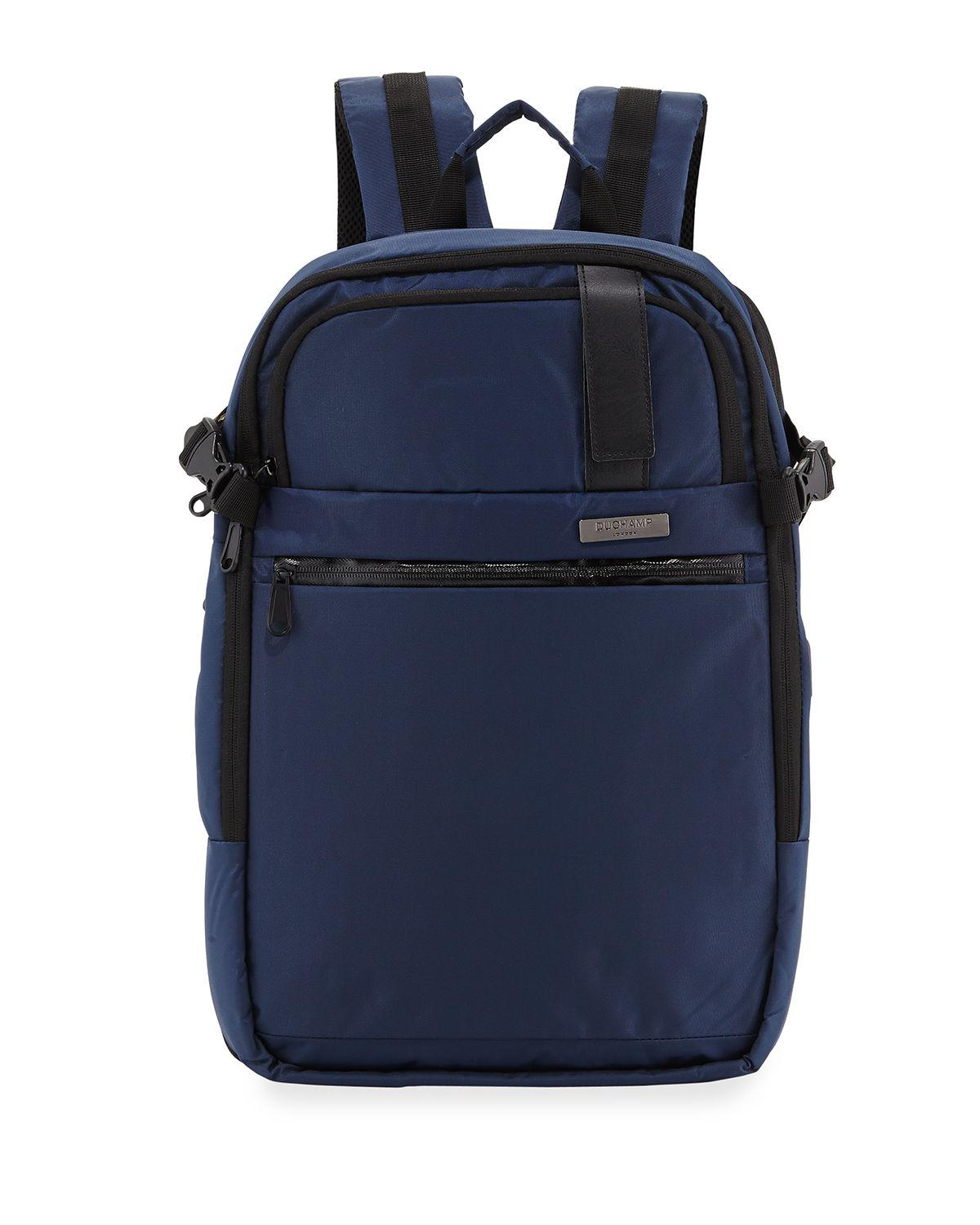 e53abbffb2 Duchamp - Black Men s Getaway Expandable Carry-on Backpack Suitcase for Men  - Lyst. View fullscreen