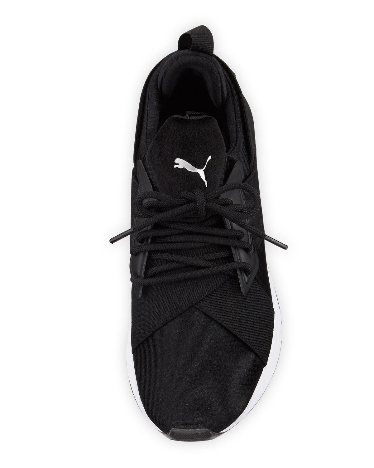 65aeaf9aee3f4a PUMA - Black Muse Satin Lace-up Sneakers for Men - Lyst. View fullscreen