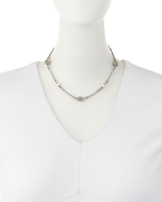John Hardy Dot Beaded Wrap Necklace Xa1ogisP