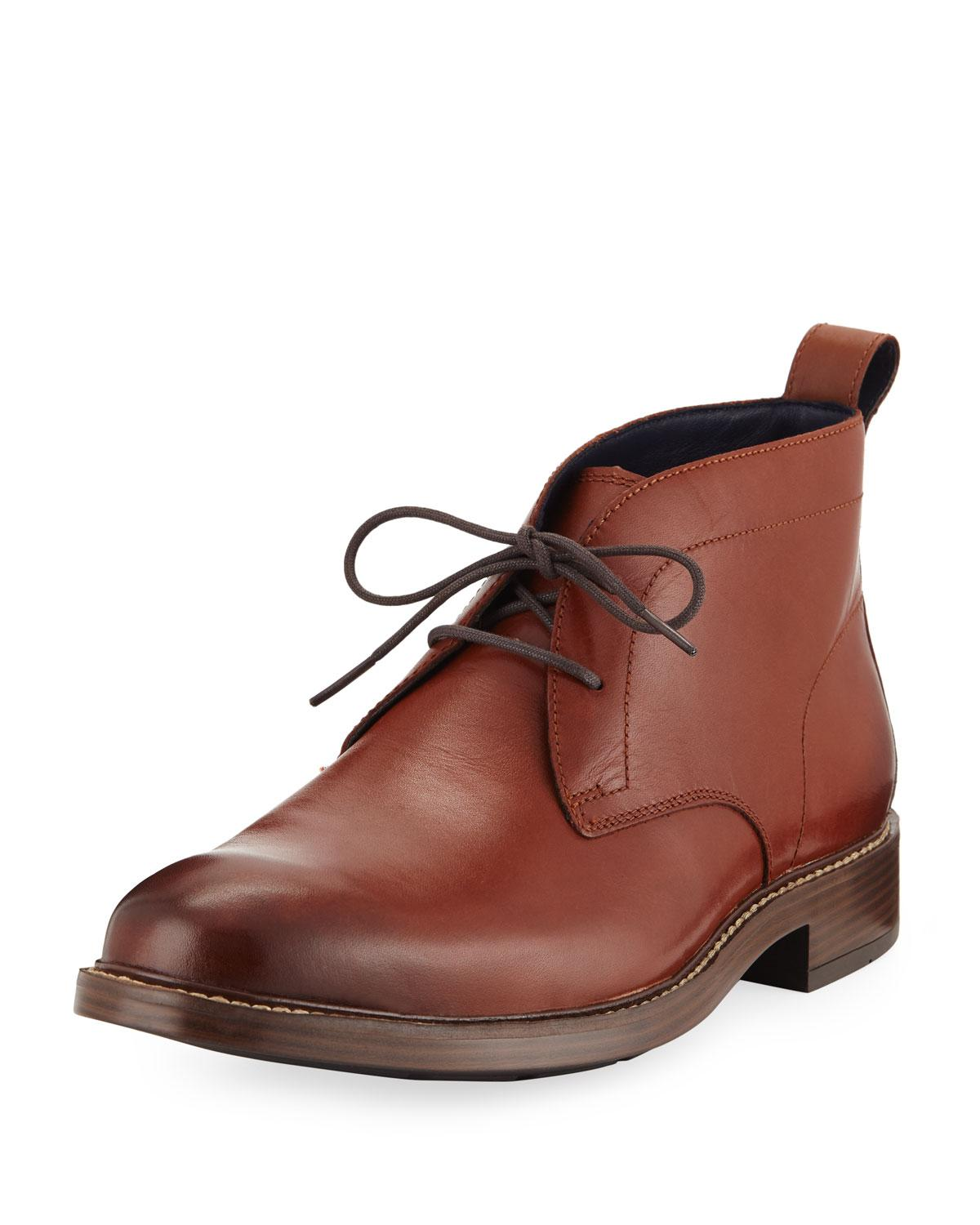 c1d51653ef5 Lyst - Cole Haan Men s Kennedy Grand Chukka Boots Brown in Brown for Men