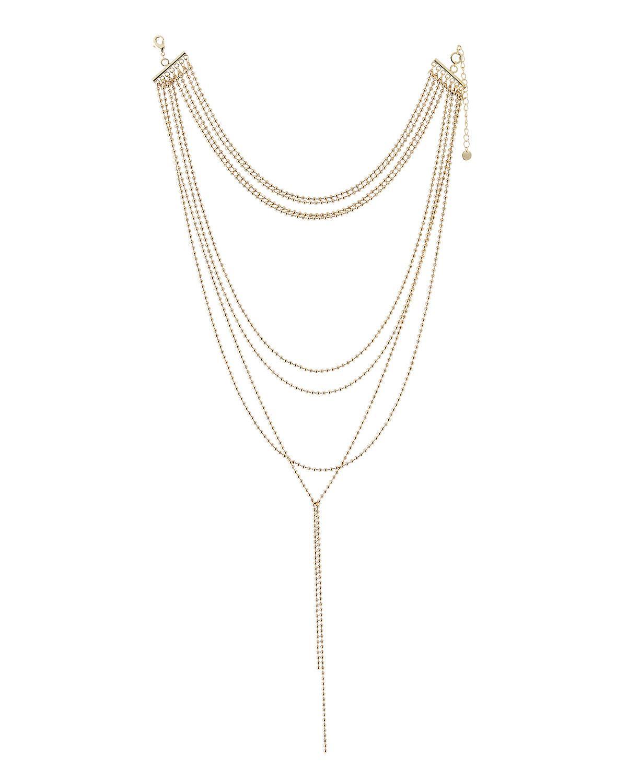 Lydell Nyc Layered Choker Charm Pendant Necklace Vs1KyqUy