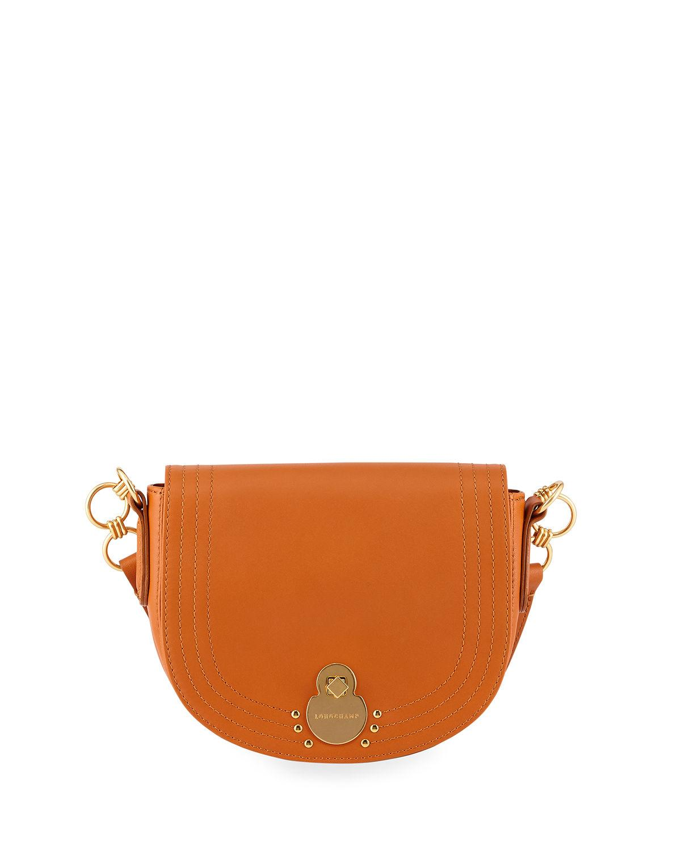 5aabb4f737e Longchamp. Women's Alezane Leather Crossbody Bag