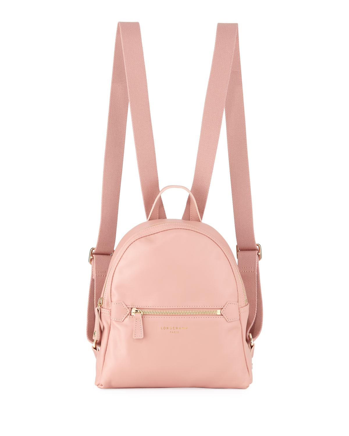 e9c681134fe3 Lyst - Longchamp 2.0 Small Leather Backpack Bag in Pink - Save 14%
