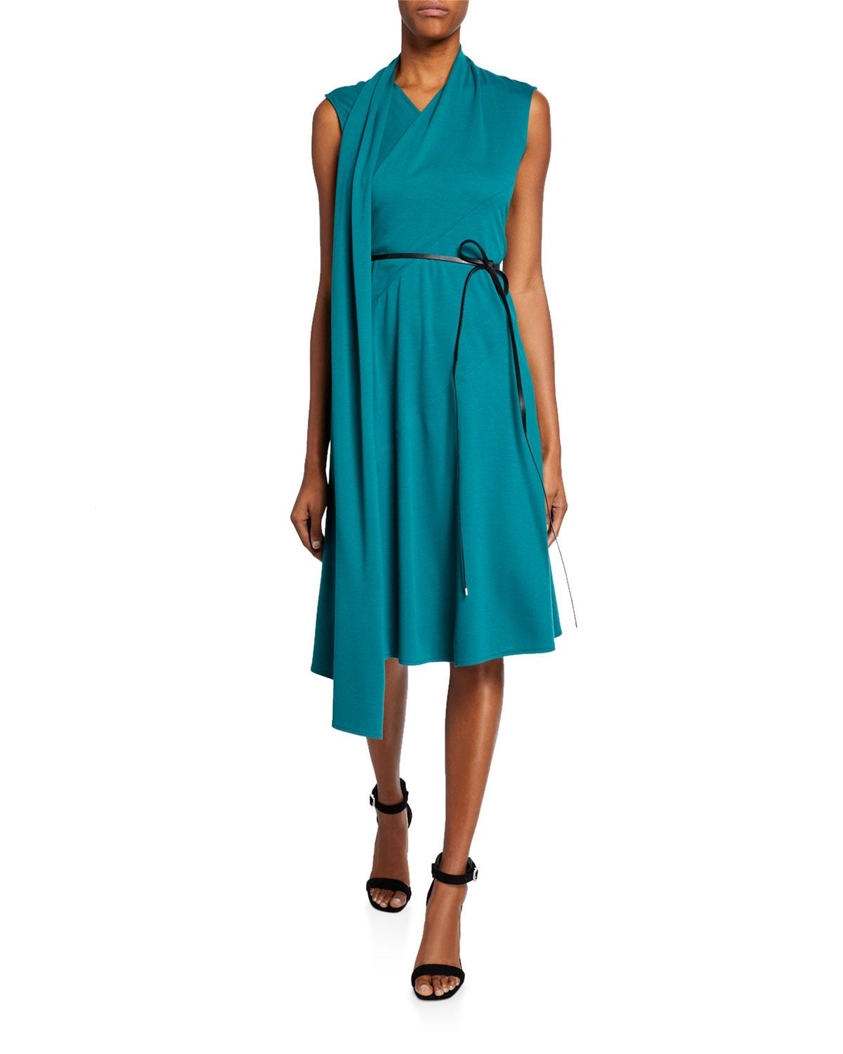 a189fd145d5 Lafayette 148 New York Nico Convertible Belted Dress in Blue - Lyst