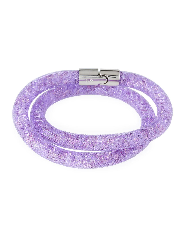 Swarovski Stardust Convertible Crystal Mesh Bracelet/Choker LcRtG5