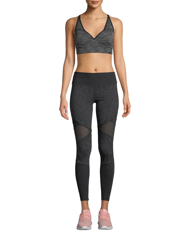 5e94ac6c4681 Marika Tek - Black Jordan Space Dye High-waist Leggings - Lyst. View  fullscreen