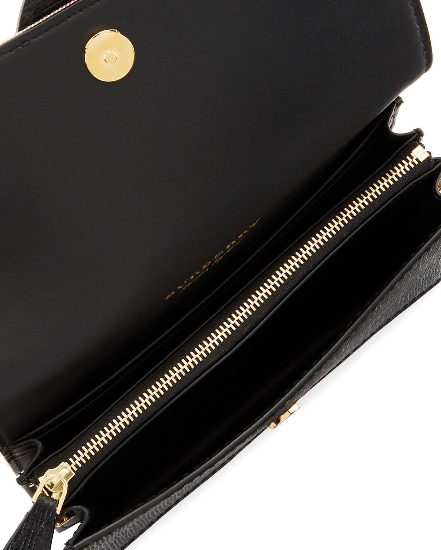 a1e1c77b12a2 Lyst - Burberry Bridle Small House Check Belt Shoulder Crossbody Bag ...