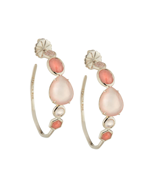 Ippolita Rock Candy Mixed-Stone 3 Hoop Earrings MyGgJvZGGd