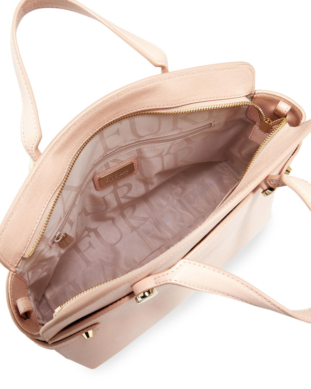 6387f138ded8 Lyst - Furla Agata Medium Leather Tote Bag in Blue