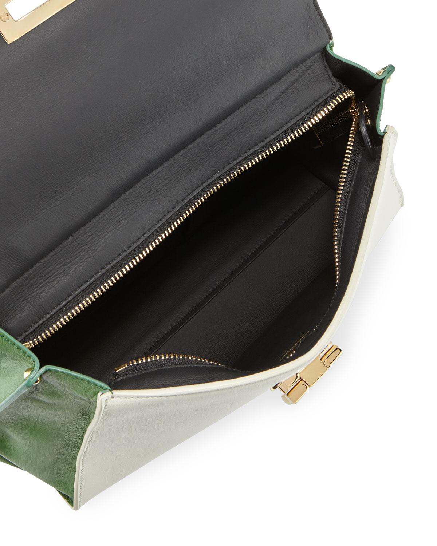 Lyst - Ferragamo Sofia Top-handle Bag 3a55319e52d08