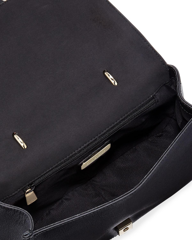 Lyst - Furla Coral Small Top-handle Bag in Black 49a8bd4f2c2fc