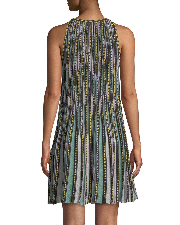 15357b8d906e Lyst - M Missoni Bubble Knit Halter-neck Dress