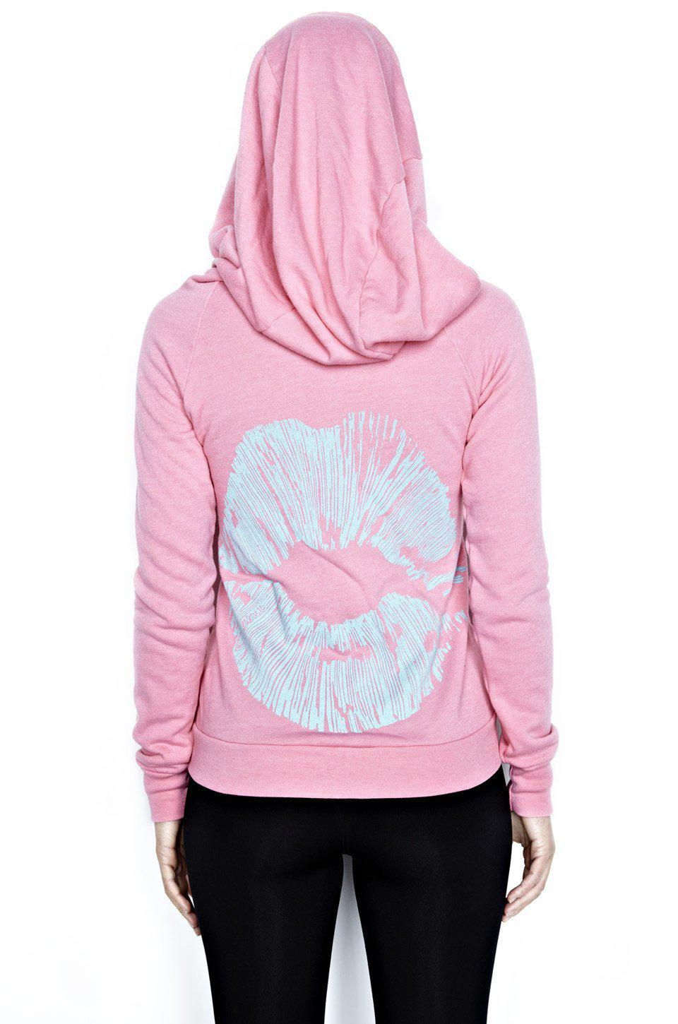 Lauren Moshi Candy Fitted Zip Up Hoodie Charm Bracelet