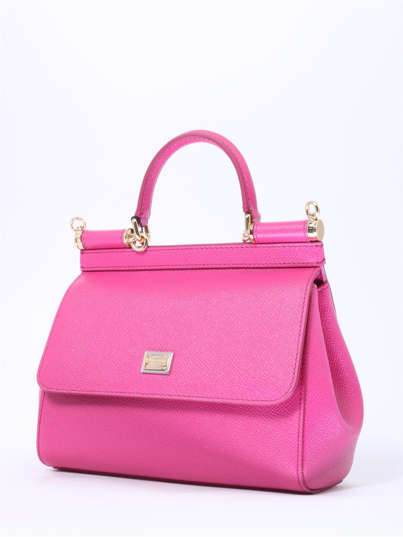 f65ba5262f52 Dolce   Gabbana - Pink Sicily Small Bag Fuchsia - Lyst. View fullscreen