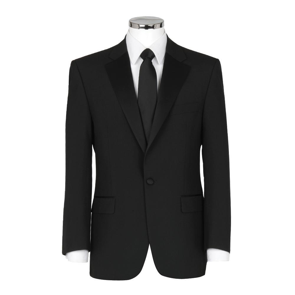 588b6ded868e Leonard Silver Dinner Suit Tuxedo in Black for Men - Lyst