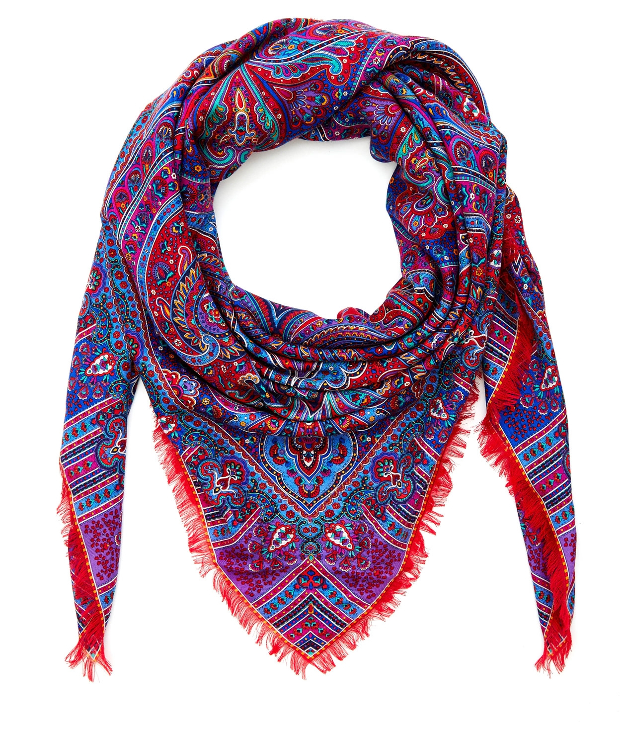 liberty lasenby silk square scarf lyst