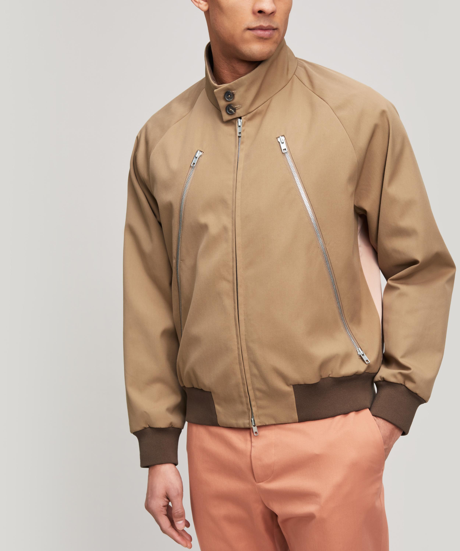 f9e2d3473cf6 Maison Margiela Calvary Jacket in Brown for Men - Lyst