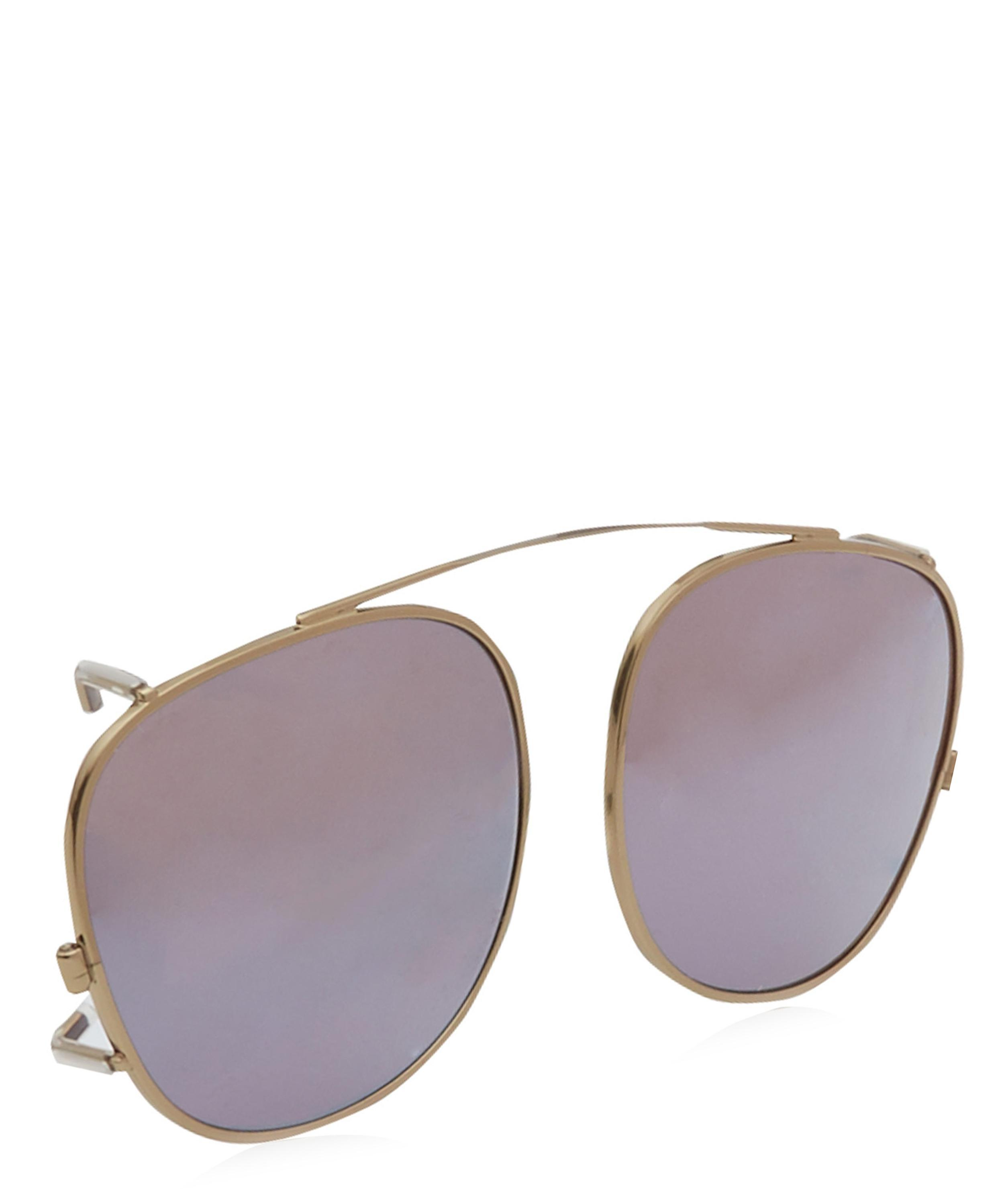 Moscot Arthur Clip On Sunglasses In Metallic For Men Lyst