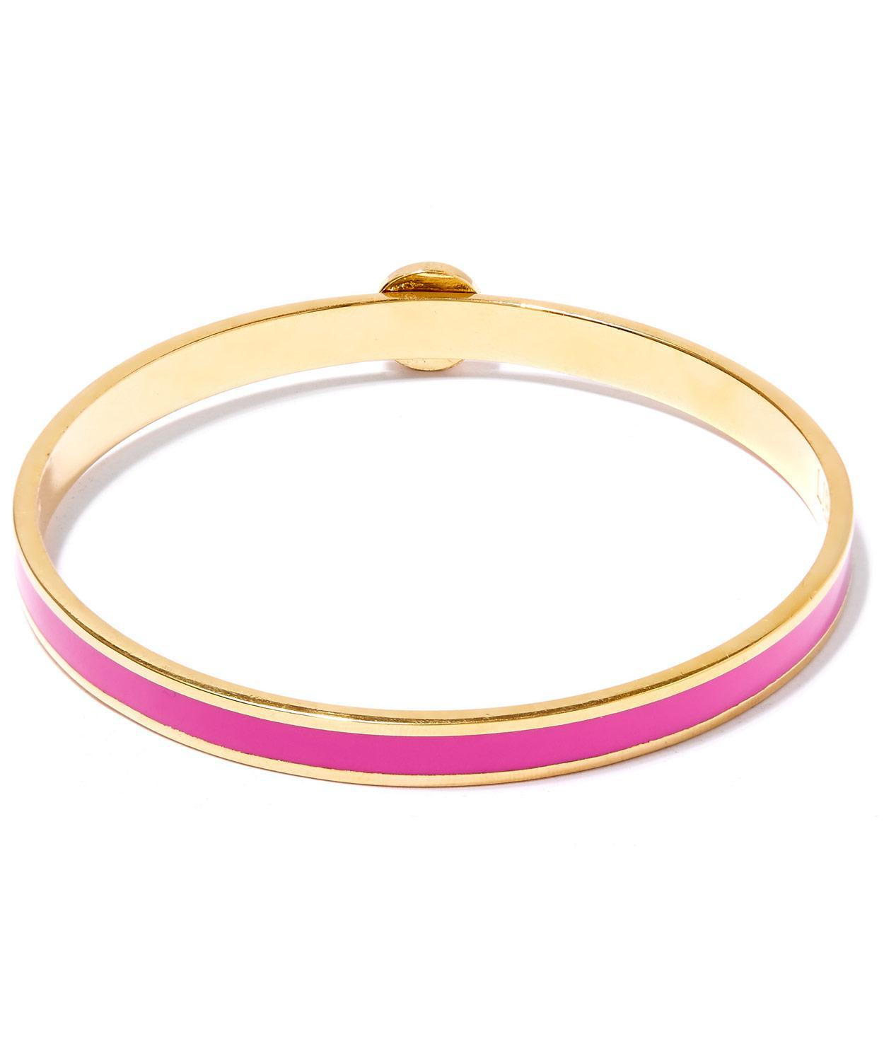 Liberty Flora Solid Thin Bangle in Pink