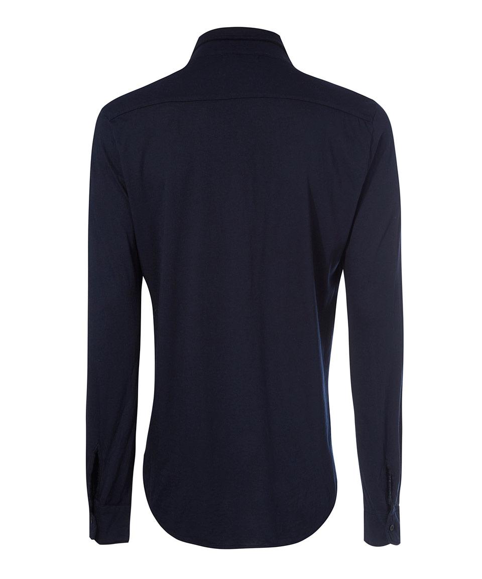 Lyst Cotton Citizen Navy Button Down Shirt In Black For Men