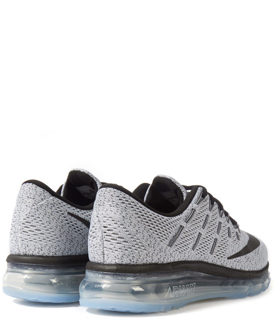 Nike Synthetic Grey Air Max 2016 Trainers in Black for Men