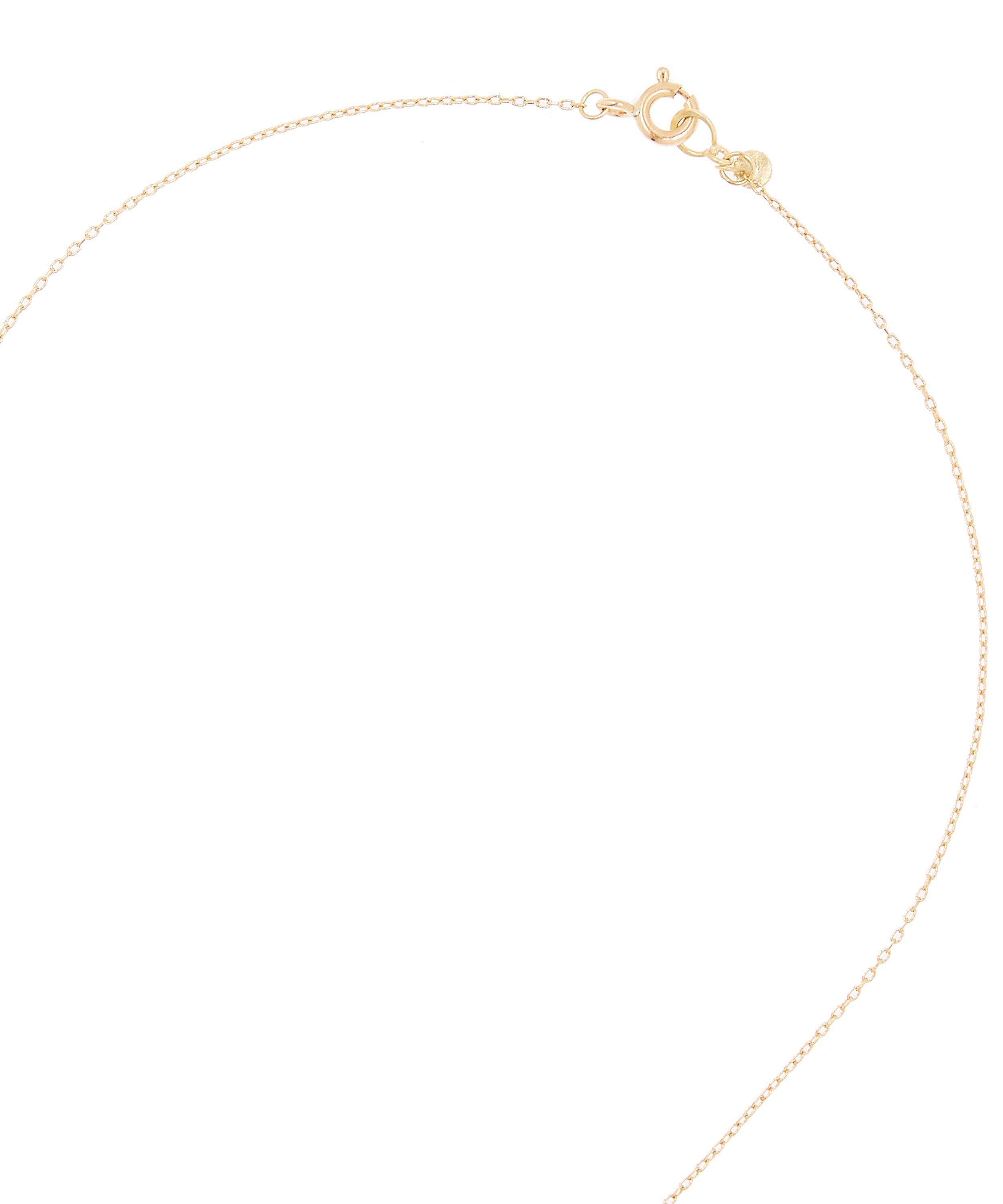 Sia Taylor Gold Sun Ray Necklace in Metallic
