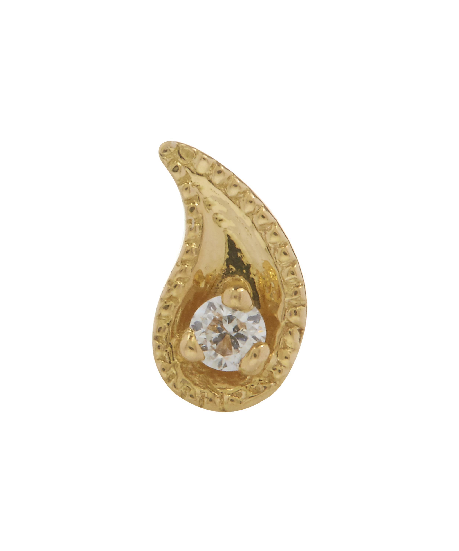 Maria Tash Paisley 14-karat Gold Diamond Earring n0D4sgs