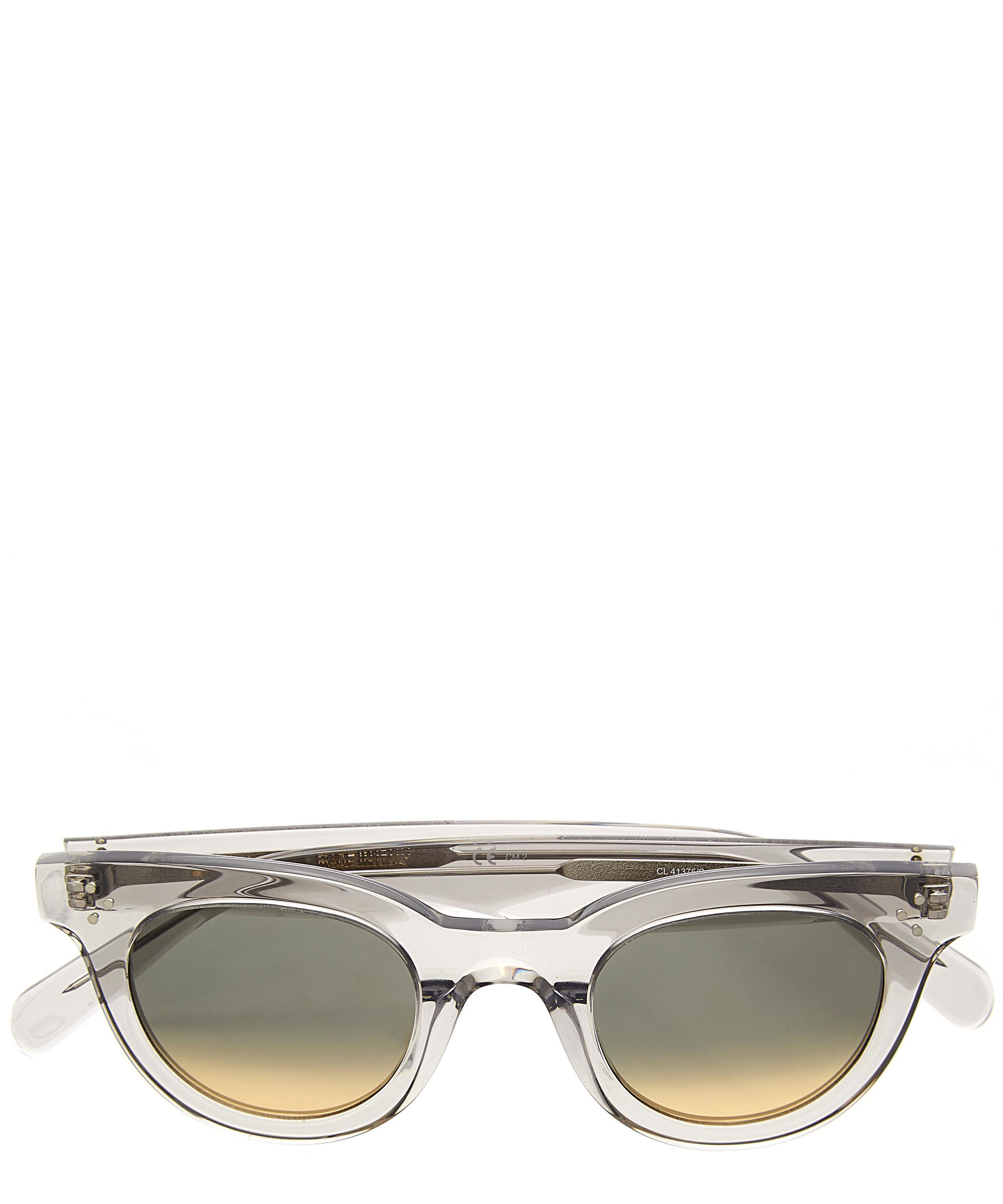 Celine Baby Audrey Sunglasses in Crystal (Metallic)