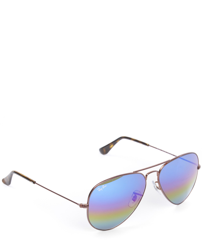 Ray-Ban Coloured Lens Aviator Sunglasses