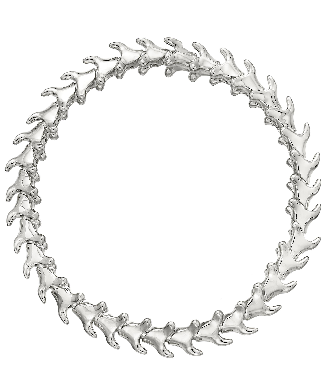 f9354c59c Shaun Leane Silver Serpents Trace Slim Bracelet in Metallic - Lyst