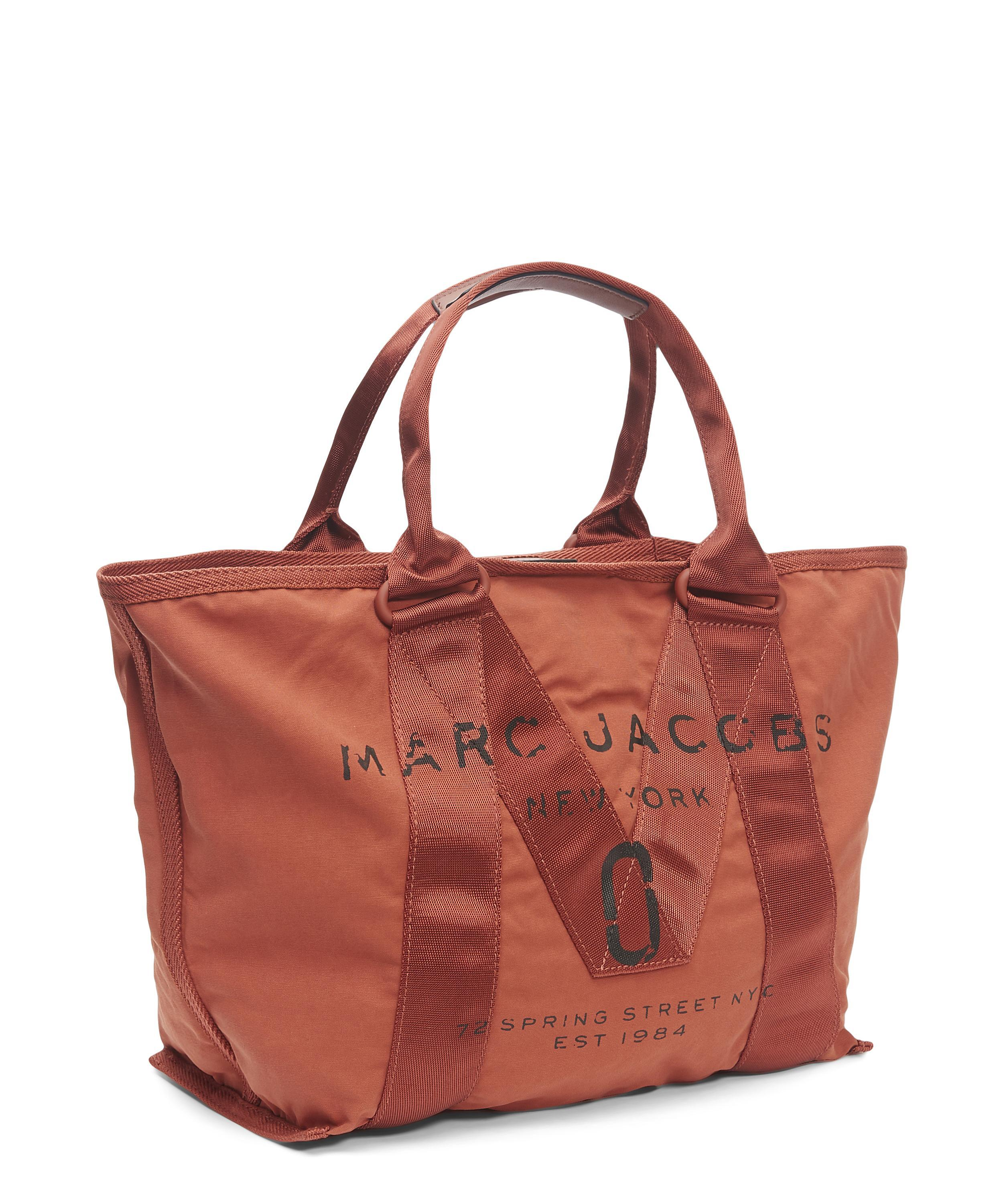 Marc Jacobs Cotton Small Logo Tote