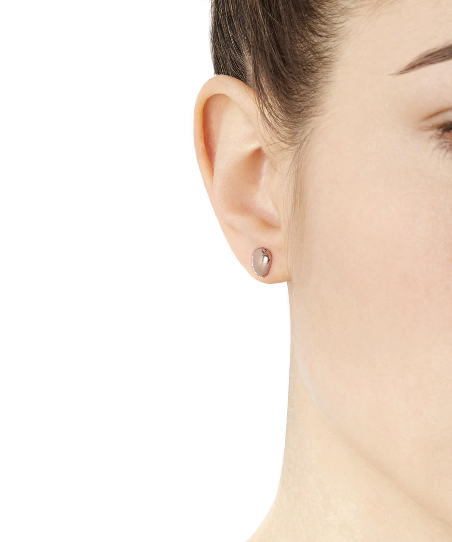 2f5e67b812585 Women's Rose Gold Vermeil Nura Small Pebble Stud Earrings