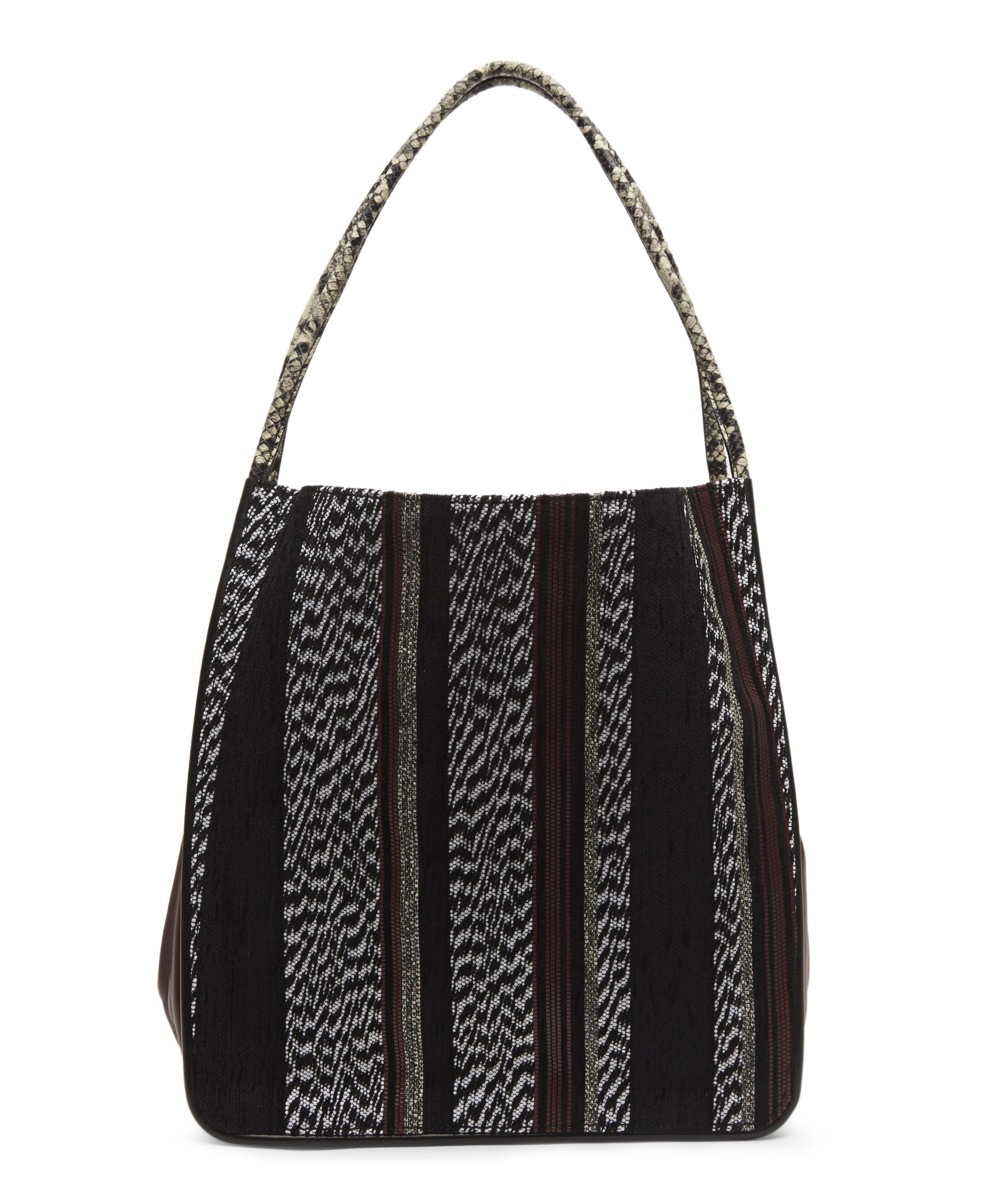 Proenza Schouler Leather Extra Large Woven Tote in Black