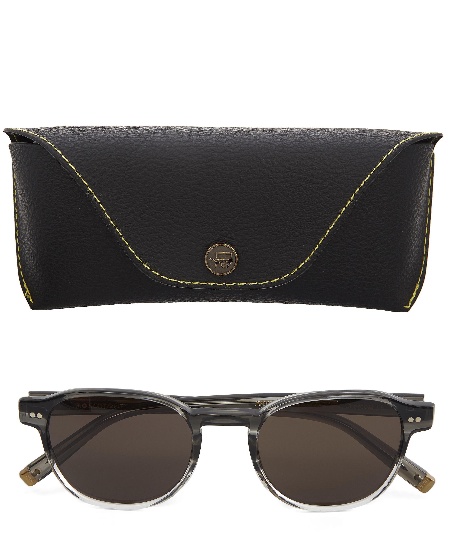 Moscot Arthur Sunglasses in Dark Grey (Grey) for Men